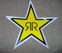 Rockstar Energy Drink Large Decal Sticker Auto Car Surf 29327550