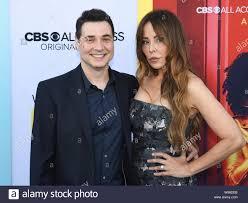 August 7, 2019, Beverly Hills, California, USA: Adam Ferrara and Alex Tyler  attends LA Premiere Of CBS All Access' ''Why Women Kill' (Credit Image: ©  Billy Bennight/ZUMA Wire Stock Photo - Alamy
