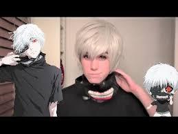 kaneki ken tokyo ghoul cosplay makeup