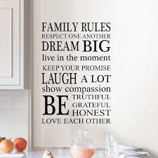 Wallpops Family Rules Wall Decal Wayfair