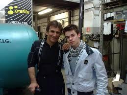 SPEEDKRAFT: Alessandro Zanardi e mio figlio alla metal tig