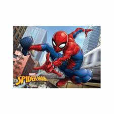 Spiderman City Floor Mat Rug 40cm X 60cm Kids Bedroom New Ebay