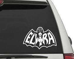 Elvira Sticker Etsy