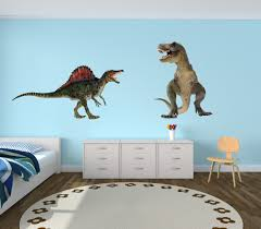 Amazon Com Giant Dinosaur Decals Peel And Stick Wall Decals Realistic Baby