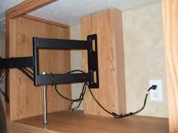 rv tv mount installation ideas and