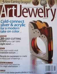 art jewelry magazine er and new