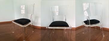 acrylic leg dining accent vanity desk