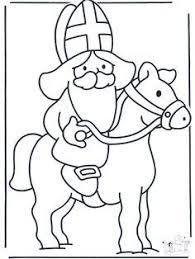 Het Paard Van Sinterklaas Kleurplaat Google Zoeken Sinterklaas
