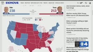Election results 2020: Trump, Biden race to 270 electoral votes  