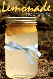freshly squeezed lemonade moonshine