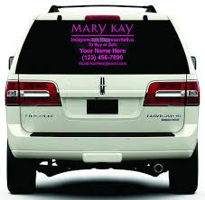 Mary Kay Cosmetics Custom Decal Sticker Choose Size Color Window Ebay