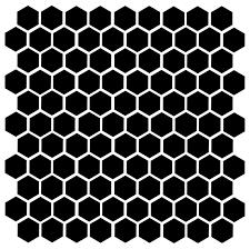 Honeycomb 104 1 Vinyl Decal Stickers Bee Honey Home Accent Geometric Minglewood Trading