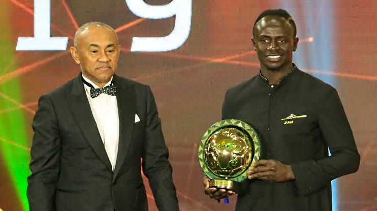 Image result for CAF Awards 2019: Sadio Mane Is Africa's Best Player""