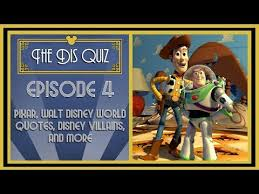 the dis quiz episode pixar trivia disney villains disney