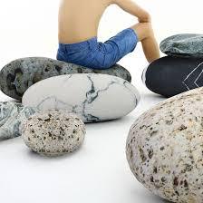 Rock Stone Pebble Pillows Decorative Floor Pillows Accent Throw Pillows Kids Room Pillows 7 Pieces Zencent Com