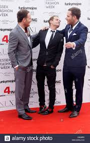 Adam Ryan and Simon Ryan VIP day at Essex Fashion Week at Lakewell Stock  Photo - Alamy