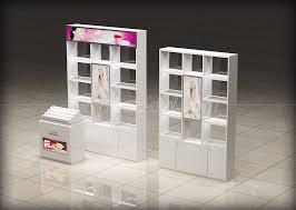 cosmetics display showcase kiosk stand
