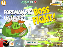 Angry Birds Under Pigstruction Boss Fight 20 Level 200 ...