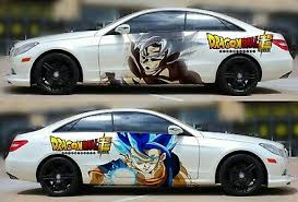 Anime Goku Dragon Ball Super Car Door Vinyl Sticker Graphics Decal Fit Any Auto Ebay