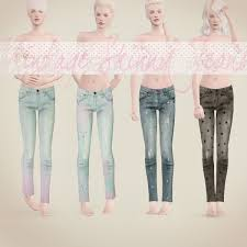 sims 3 female baggy jeans
