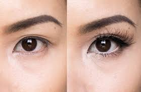 eyes look chinese without makeup