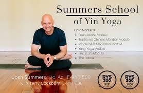 summers of yin yoga intensive