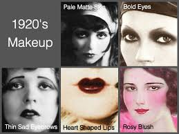 1920 s makeup hair fashion