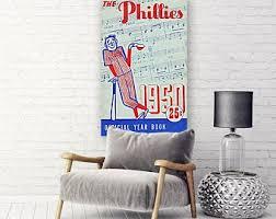 Phillies Wall Art Etsy