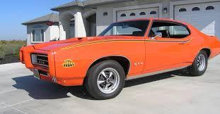 1969 pontiac gto judge powered by a 366