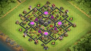 NEW TOWN HALL 9 FARMING BASE 2018 -