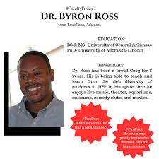 Today we're featuring Dr. Byron Ross for... - University of Houston  Department of Communication Sciences & Disorders | Facebook