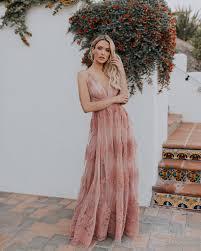 Antonia Maxi Dress - Mauve | Klänning bröllop, Klänningar, Drömbröllop
