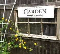How To Make Rustic Signs For The Garden