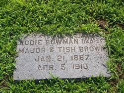 Addie Brown Bowman (1867-1910) - Find A Grave Memorial