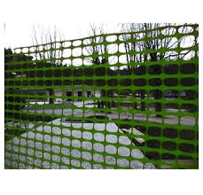 4 X 100 Green Safety Fence