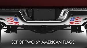 Buy 2x Std Reversed Usa American Flag Stars Patriotic Car Truck Vinyl Sticker Decal