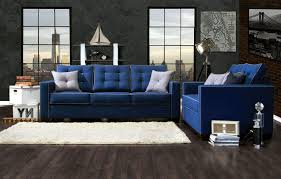 gallery of dark blue sofas view 11 of