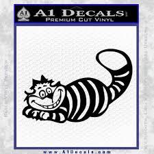 Alice In Wonderland Cheshire Cat Decal Sticker A1 Decals