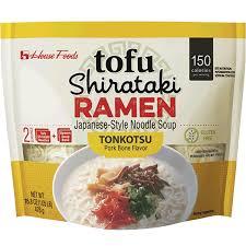 tofu shirataki ramen tonkotsu house foods