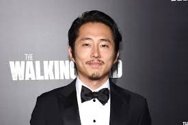 The Walking Dead's Steven Yeun Didn't Leave the House During Glenn Watch