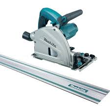 Makita Sp6000j1 165mm Plunge Saw 110v With 2 X 1 4m Guide Rails Industrial Power Circular Saw