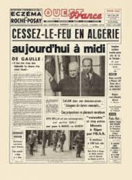 Fin de la guerre d'Algérie Ouest-France