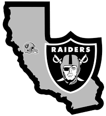 Nfl Oakland Raiders Home State Decal Epic Sports