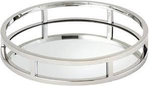 round mirror tray 10 75 inch