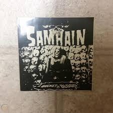 Danzig Samhain Misfits Vintage Sticker Lot 3 Regular 3 Window Decals 1928398886