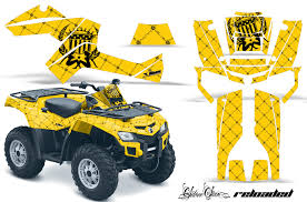 Can Am Outlander Graphics Kit Ssr By 47 Of 101