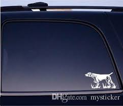 2020 German Shorthaired Pointer Vinyl Car Truck Window Decal Gsp Hunting Dog Bird Gun Puppy Sm Sticker From Mysticker 8 05 Dhgate Com