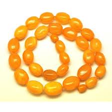 shape antique baltic amber necklace