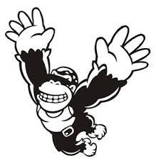 Donkey Kong Decal Sticker