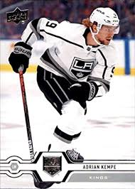 Amazon.com: 2019-20 Upper Deck #404 Adrian Kempe Los Angeles Kings Hockey  Card: Collectibles & Fine Art